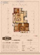 丽江半岛4室2厅2卫141--163平方米户型图