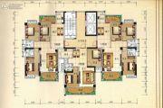 兴业花园3室2厅2卫119平方米户型图