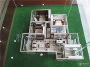 金通・牡丹园 高层3室2厅1卫113平方米户型图