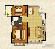 南昌恒大名都2室2厅1卫83--87平方米户型图