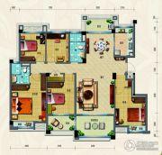 淄博碧桂园5室2厅2卫170平方米户型图