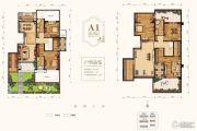 世茂轩府5室2厅2卫274平方米户型图