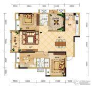 金安东诚4室2厅2卫139平方米户型图