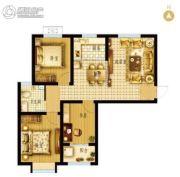 枣强・新天地3室2厅1卫99平方米户型图