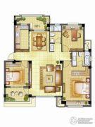 银亿璞园3室2厅2卫115平方米户型图