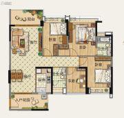 雅居乐森岚4室2厅2卫0平方米户型图