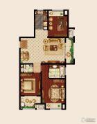 嘉宏云顶3室2厅2卫118平方米户型图