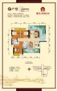 顺祥南洲1号3室2厅2卫118平方米户型图