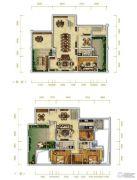 万科金润华府6室3厅3卫321平方米户型图