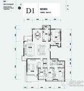 北辰香麓4室2厅3卫280平方米户型图