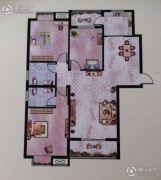 大地丽都3室2厅2卫127--128平方米户型图