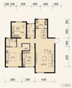 东地天澜3室2厅2卫122平方米户型图
