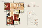 正商中州城3室2厅1卫111平方米户型图