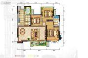 格林城3室2厅2卫106平方米户型图