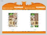 碧桂园珊瑚宫殿1室2厅1卫0平方米户型图