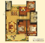 梦享城4室2厅2卫135平方米户型图