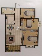 广厦黄金花园3室3厅3卫120平方米户型图