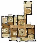 华润国际社区3室2厅2卫190平方米户型图