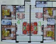 春天海景2室2厅2卫77--85平方米户型图