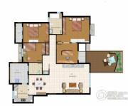 清华大溪地4室2厅2卫0平方米户型图