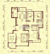 恒大名都4室2厅2卫178平方米户型图