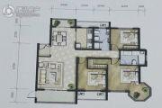 新公馆3室3厅2卫161平方米户型图
