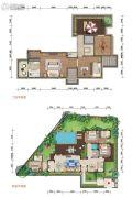 石梅半岛5室3厅4卫201平方米户型图