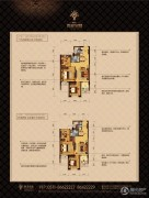 顺发吉祥半岛2室2厅1卫75平方米户型图
