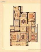 华鸿・艺墅4室2厅2卫119平方米户型图