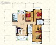 锦天・生态城3室2厅2卫138平方米户型图