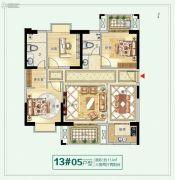 龙泉丽景3室2厅2卫0平方米户型图