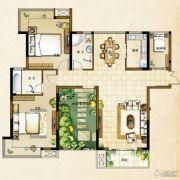 世茂花园3室2厅1卫141平方米户型图