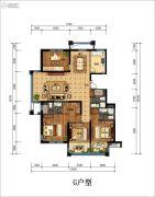 丁香花园玉泉苑4室2厅3卫182平方米户型图