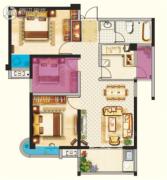 宝隆世家3室2厅1卫0平方米户型图