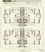 裕和天地5室3厅4卫313平方米户型图
