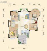 正源尚峰尚水4室2厅2卫0平方米户型图