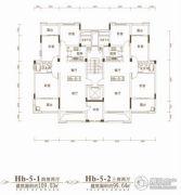 联投金色港湾3室2厅1卫99平方米户型图