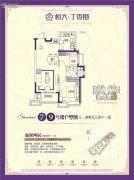 恒大丁香郡2室2厅1卫0平方米户型图