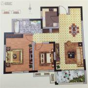 孔望尚府2室2厅1卫103平方米户型图