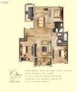 亚龙湾东湖3室2厅2卫130--150平方米户型图