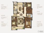 石湖天玺4室2厅3卫243平方米户型图