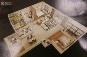 龙城国际3室2厅2卫136平方米户型图