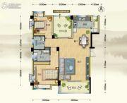 博大江山如画二期2室2厅1卫109--110平方米户型图