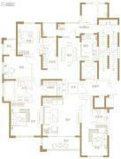 富田九鼎世家4室2厅2卫229平方米户型图