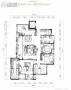 万科御澜道5室2厅2卫169平方米户型图