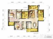 保利凤凰湾2室2厅2卫121--126平方米户型图
