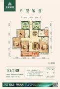 金龙绿城4室2厅2卫156--159平方米户型图