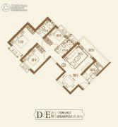 恒大御景湾3室2厅2卫115平方米户型图