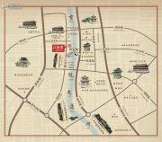 绿城江南里交通图