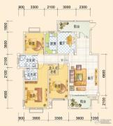 春风玫瑰园4室2厅2卫154平方米户型图